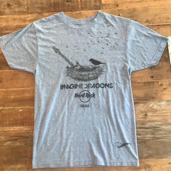 a7d041375469 Hard Rock Cafe Other - Imagine Dragons Hard Rock Chicago t shirt, size S